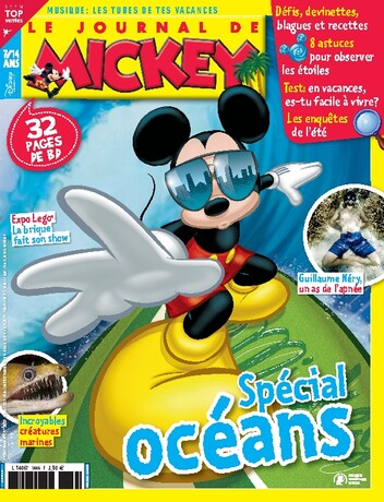Abonnement magazine Le Journal de Mickey